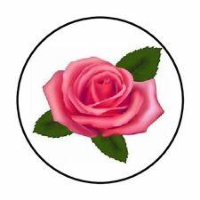 "48 Rose!! ENVELOPE SEALS LABELS STICKERS 1.2/"" ROUND"
