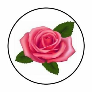 48-PINK-ROSE-FLOWER-ENVELOPE-SEALS-LABELS-STICKERS-1-2-034-ROUND