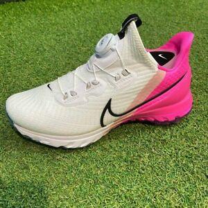 Details about Nike 2020 Men Zoom Infinity Tour Boa W Golf Shoes White Pink  CV0756-101 SZ5-12