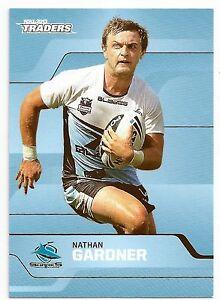 2013-NRL-Traders-Base-Card-126-Nathan-GARDNER-Cronulla-Sharks