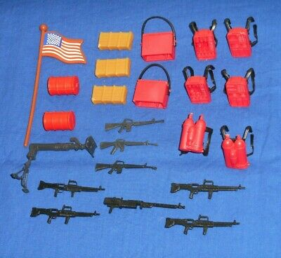 Vtg The A-Team Figures Spare Parts Weapons /& Accessories 80s Galoob