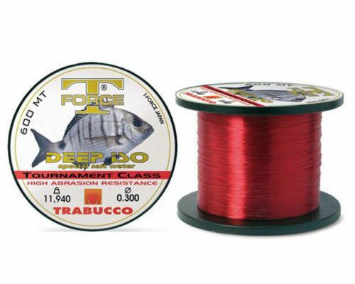 Monofilo Pesca Filo Trabucco Deep ISo Special Bolentino Traina 300//600 Mt J RN