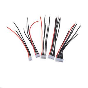 5pcs-2S-3S-4s-5s-6S-LiPo-Battery-balance-chargeur-cable-connecteur-IH