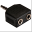Philips-3-5mm-Stereo-Y-Adapter-1-Plug-To-2-Jacks thumbnail 2