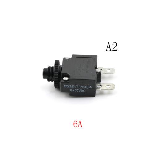 125//250V Circuit Thermal Breaker Thermal Protector For Generator H9 SHN  VZ