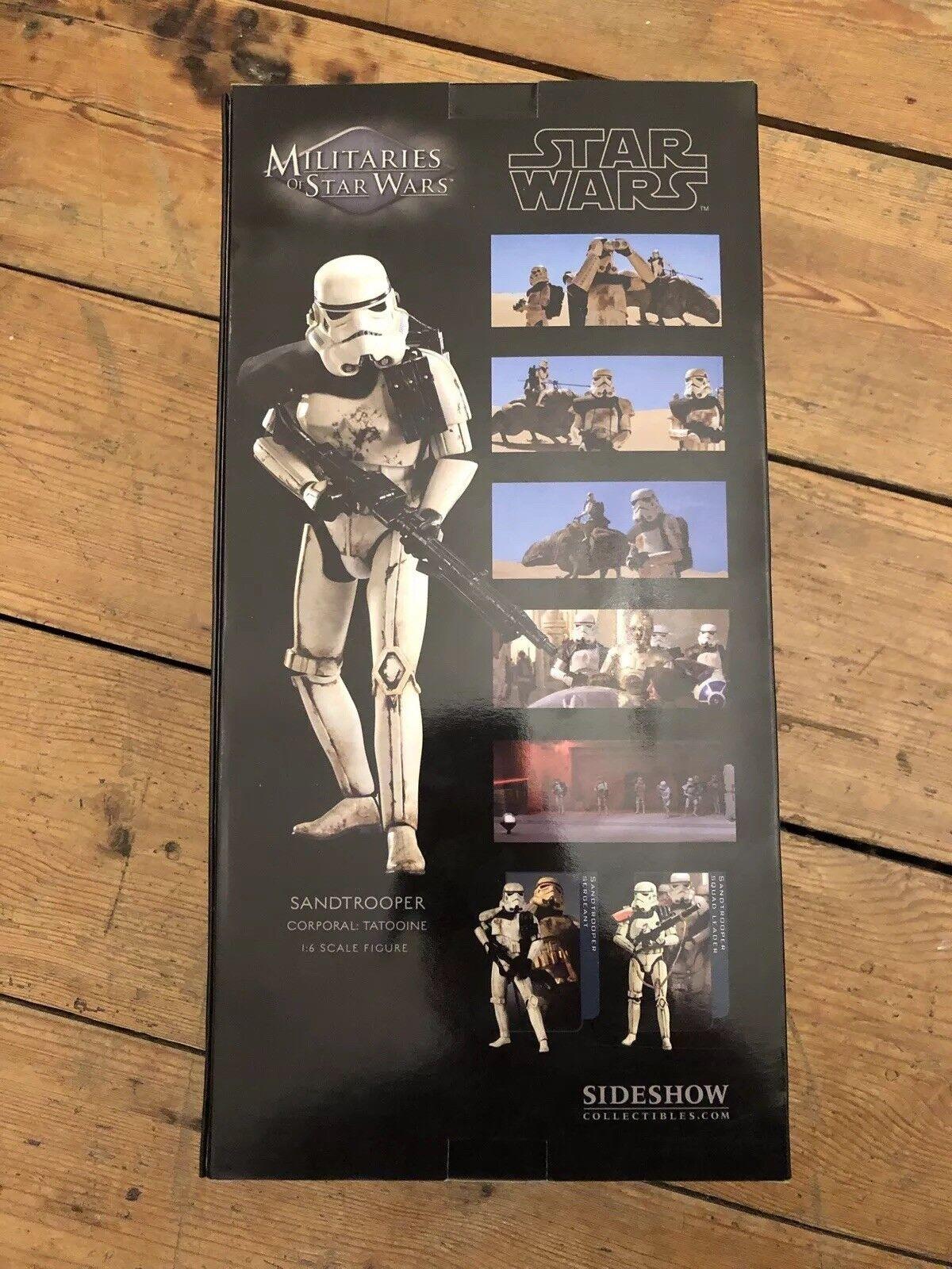 Sidemostrare ARMA DI estrella guerras Setrooper esclusivo CAPORALE  TATOOINE TATOOINE TATOOINE SSC1108 ee4c77