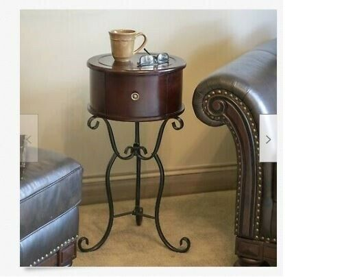Farmhouse Style One Drawer Side Table For Sale Online Ebay
