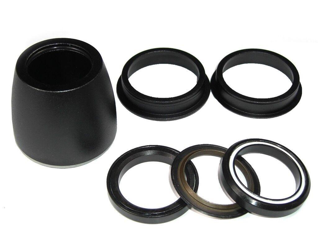 VP Components Z104PE ZS44 30 ZS44 28,6 Steuersatz Semi-Integriert schwarz  | Üppiges Design