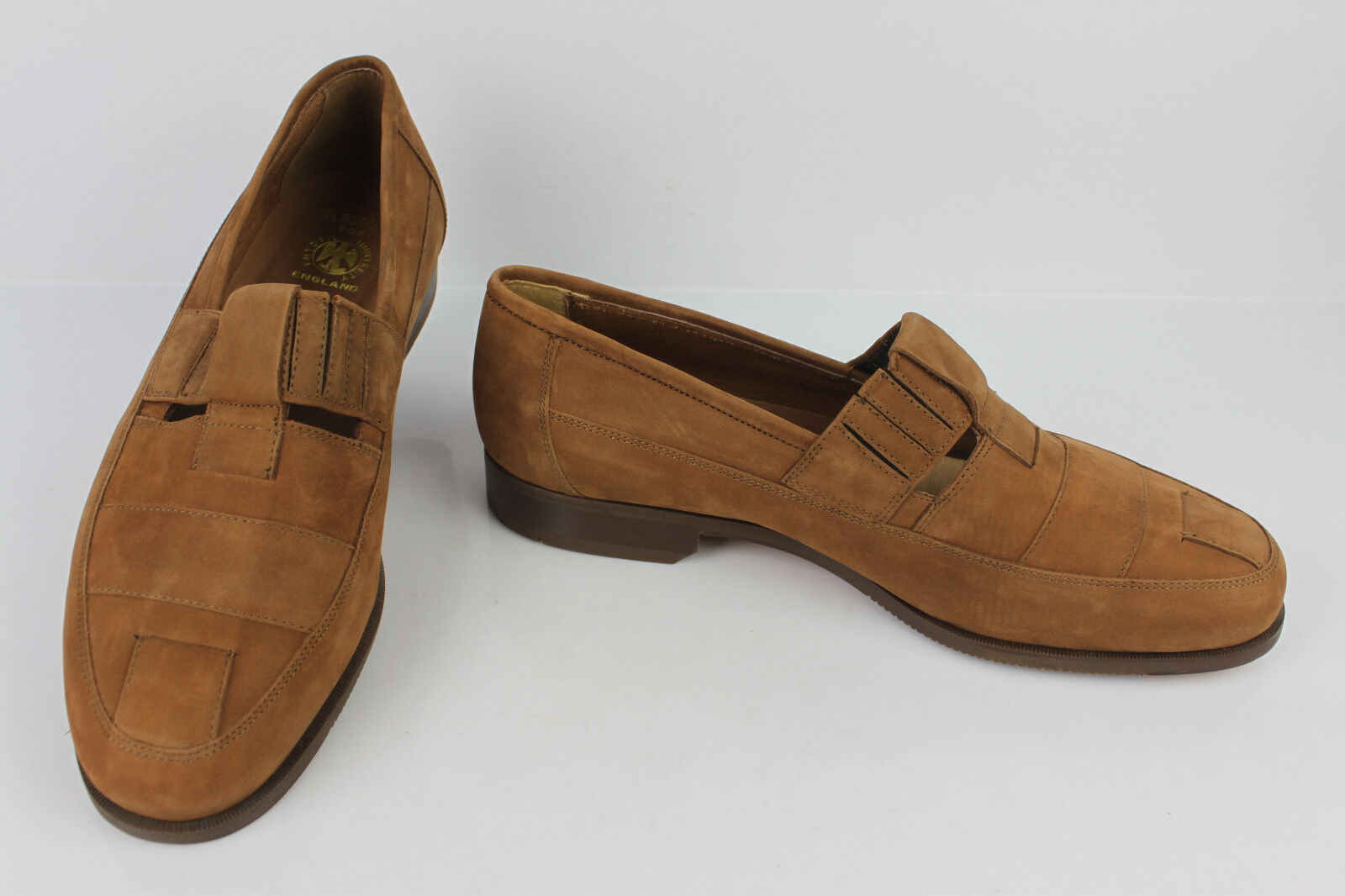 Mocassins GLASCOW FOR THYDFIL UNIVERSITY England Tout Cuir brown T 45 TTBE