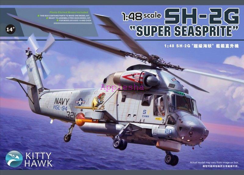 Kitty Hawk 80126 1 48 SH-2G Super Seasprite