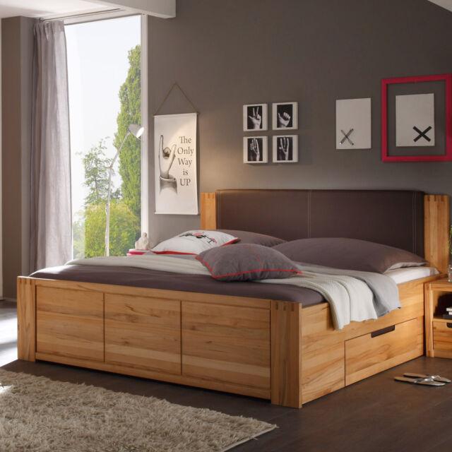 Bett Colorado Schlafzimmerbett Doppelbett Kernbuche Teilmassiv 180x200 Gunstig Kaufen Ebay