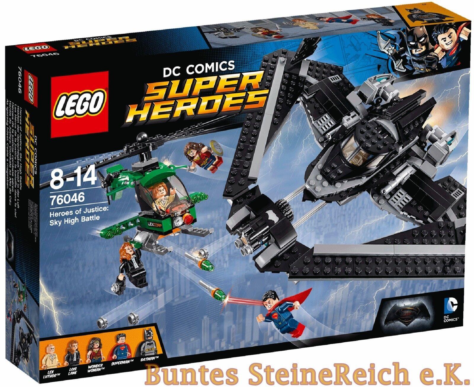 Lego Súper Héroes  76046 Duelo en el Aire & Envío   Nuevo & Emb.orig
