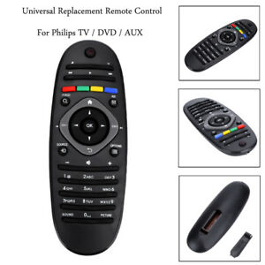 Rechange-TV-Telecommande-Universelle-pour-Philips-TV-DVD-AUX