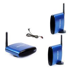 PAT-530 Wireless AV Sender Audio Video Transmitter+2 Receivers IR Remote Include