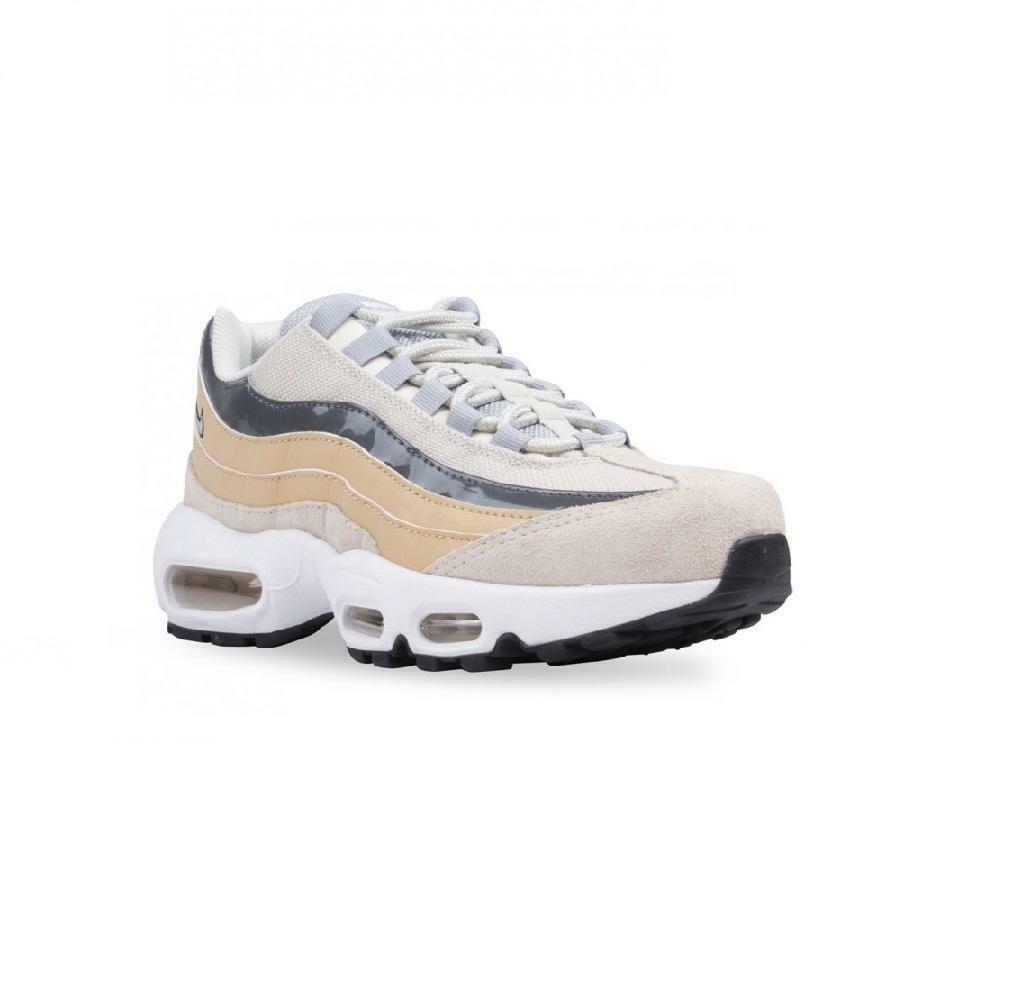 Mujer Nike Nike Nike Air Max 95 Claro Hueso Zapatillas 307960 009 0ce96e