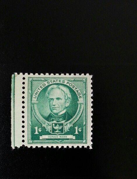 1940 1c Horace Mann, American Politician Scott 869 Mint