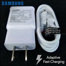 New OEM Samsung Galaxy Note 4 5 Edge S6 S7 Edge Charger Adaptive Fast Charg