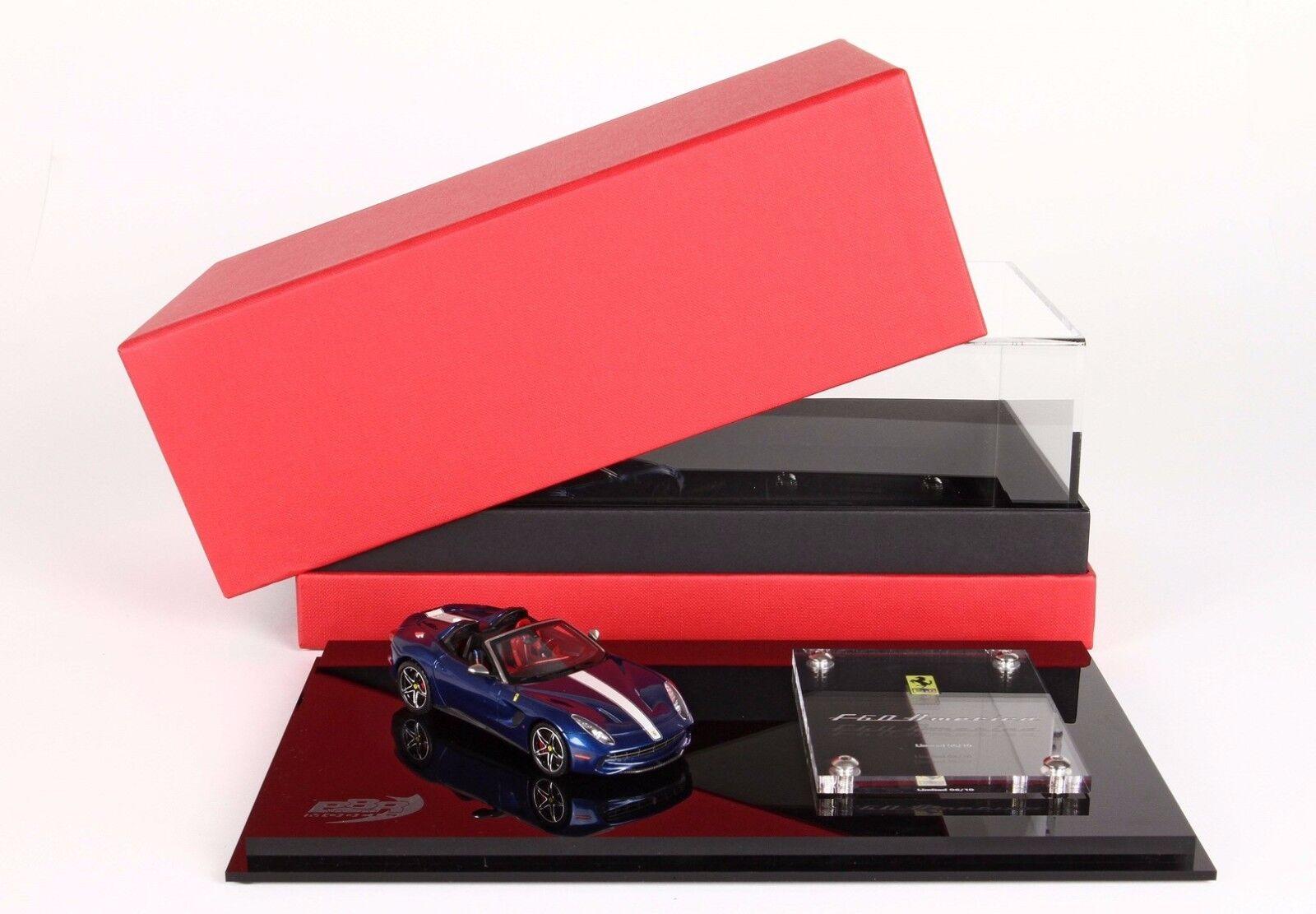 Ferrari F60 America bleu 1 43 lim.ed. 10 pcs BBRC182ICO  BBR