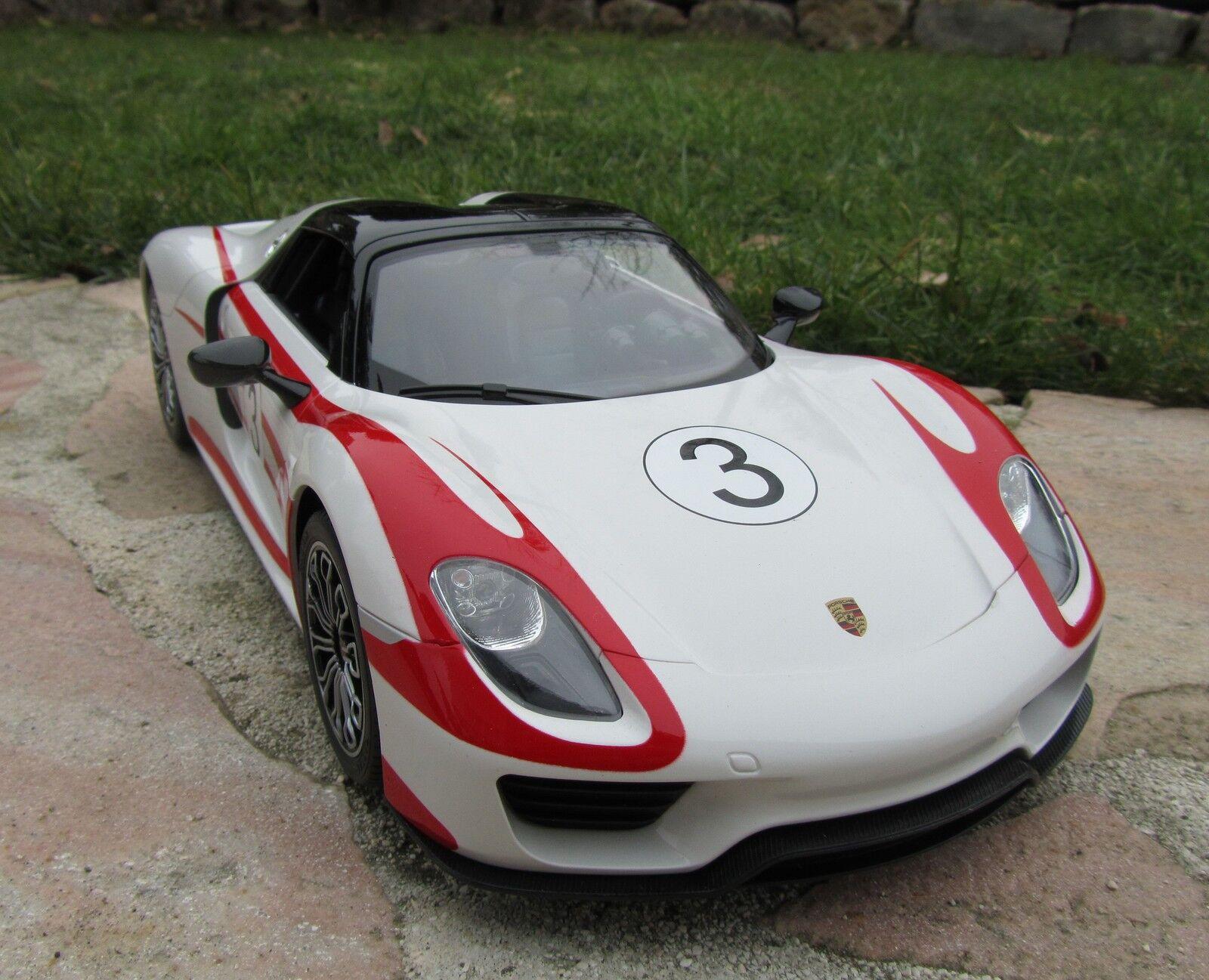 centro commerciale online integrato professionale RC Porsche 918 SPYDER RACE 40mhz licenza modellololo 34cm 34cm 34cm 1 14  Qualità Top  404582  all'ingrosso a buon mercato