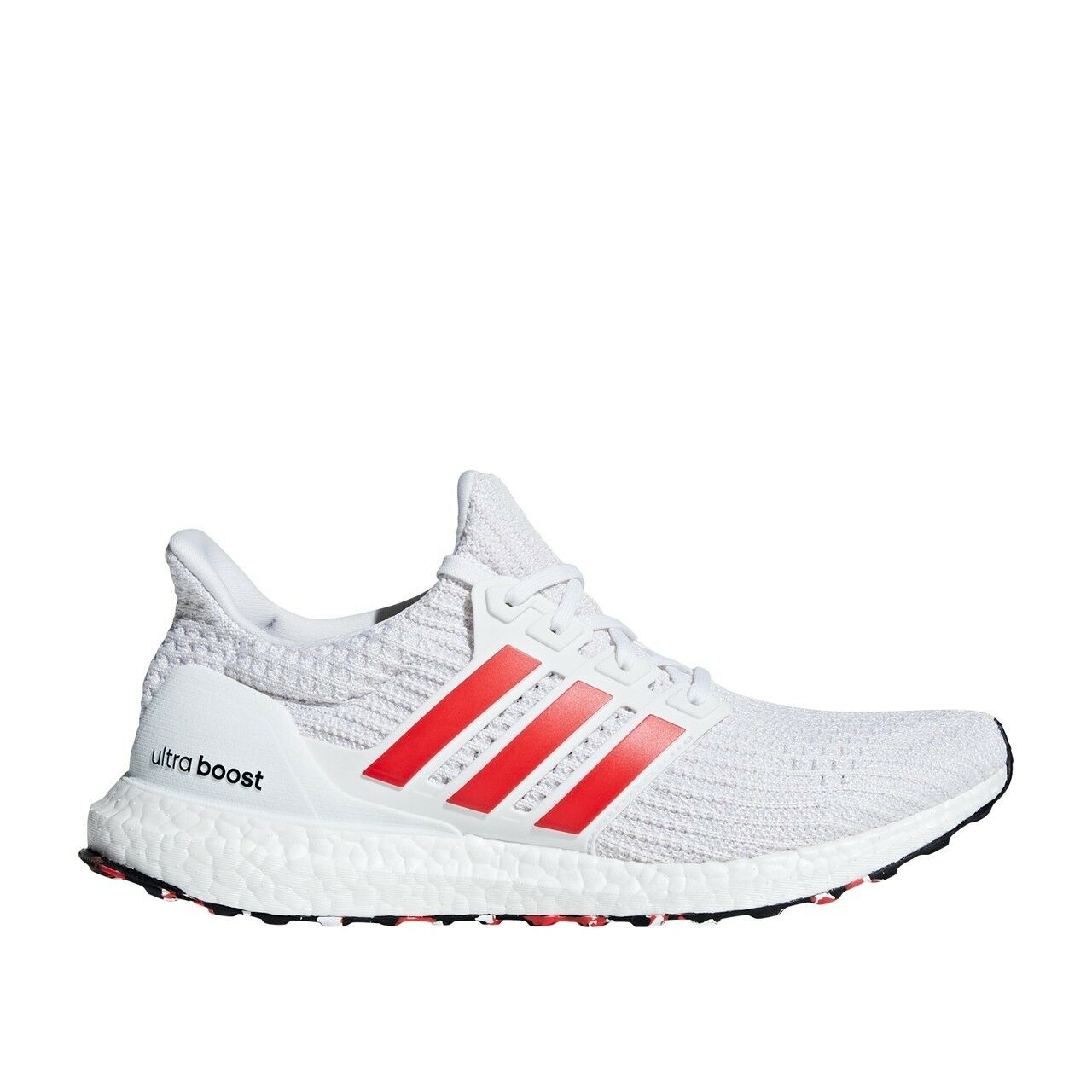 Red Adidas Men's (DB3199) White Ultraboost NEW