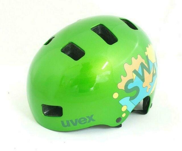 uvex Jugend Fahrradhelm kid 3, green, Größe 51-55 cm *NEU*