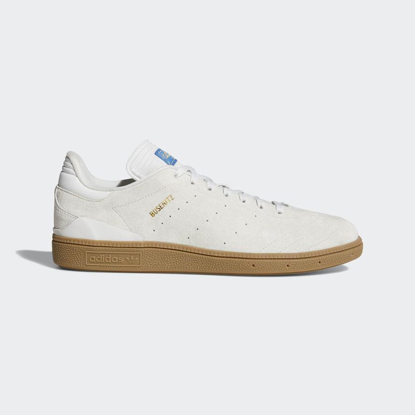 Adidas - Busenitz RX | homme Skate chaussures - CQ1162 | blanc / Gold