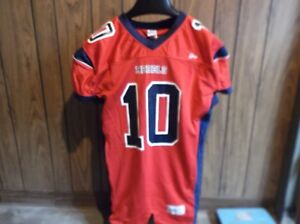 sports shoes d1555 06dff Details about Ole Miss football jersey Rebels XL athletic fit red blue  Gator Athletics