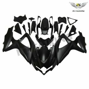 Matte-Black-Injection-Fairing-Kit-for-SUZUKI-GSXR600-750-08-010-K8-Plastic-z005