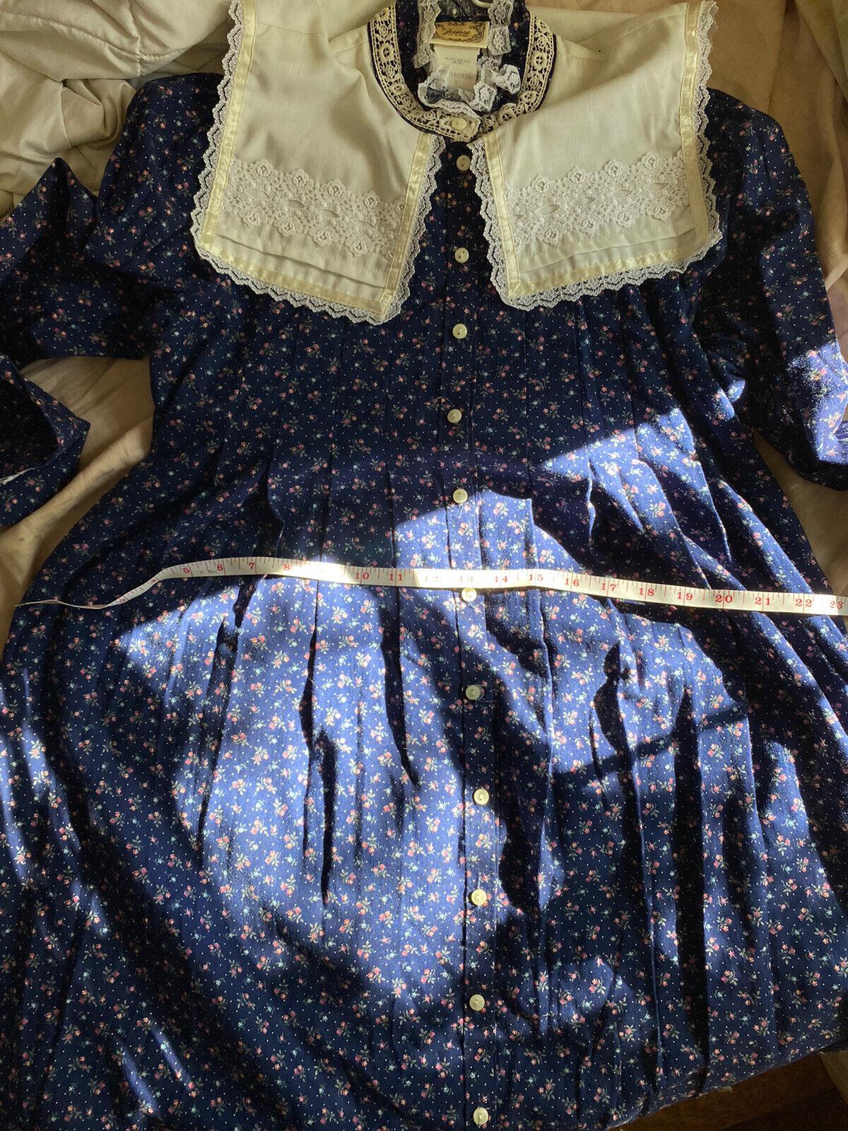 vintage gunne sax prairie dress (size 9) - image 5