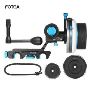 FOTGA-DP500III-Follow-Focus-w-Speed-Crank-Handle-Gear-Set-Video-Film-Making-AU