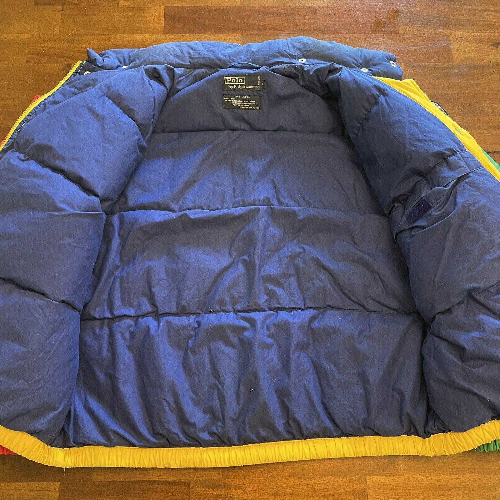 VTG Ralph Lauren Polo Uni Jacket Unicrest Down Pu… - image 4
