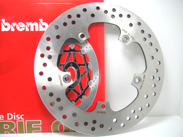 BREMBO Serie Oro 68B407C2 Brake Disc Rear Fixed Yamaha Fz 8 800 Year 2010