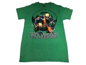 Marvel-Comics-X-men-Wolverine-Weapon-X-Claw-Slash-Logo-Men-039-s-T-Shirt-S-XL