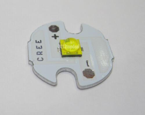 5pc Cree XLamp XT-E XTE 4000k 1W 3W 5W LED Light Emitter mounted on 16mm UFO PCB