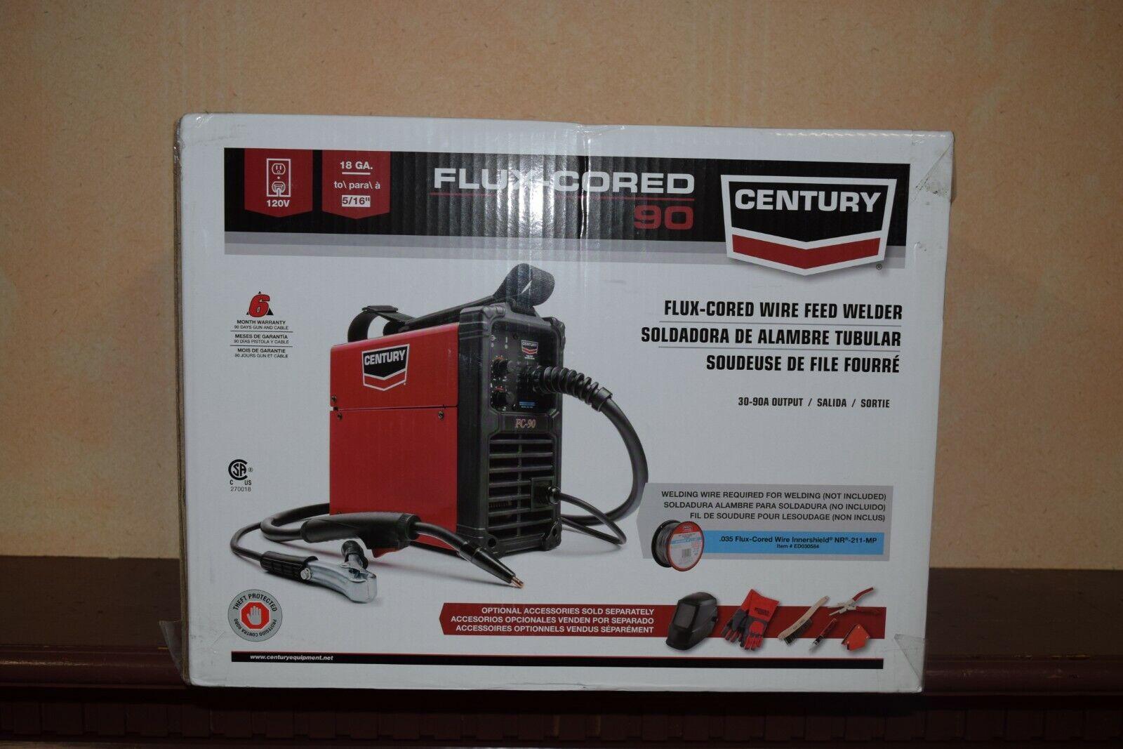 K3493-1 cbrewzer27 CENTURY K3493-1 FC90 FC 90 FLUX CORED WIRE FEED WELDER & GUN
