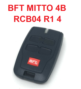 Telecomando radiocomando BFT Mitto 4 B RCB 433 Mhz rolling code 4 tasti Mitto