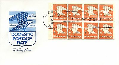 6340 Us Fdc #1736a A Rate Adler Im Bereich Artmaster