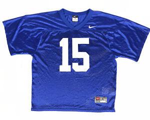 Florida-Gators-Tim-Tebow-15-Nike-Team-Football-Jersey-Youth-Size-Large-Blue-EUC