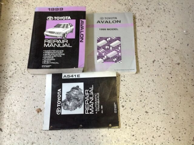 1999 Toyota Avalon Service Repair Shop Workshop Manual