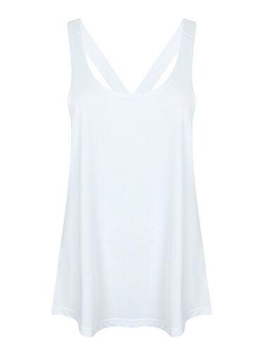 Damen Workout Sport Shirt Top Strap Fitness 3 Farben Gr.XS,S,M,L,XL,XXL SF241