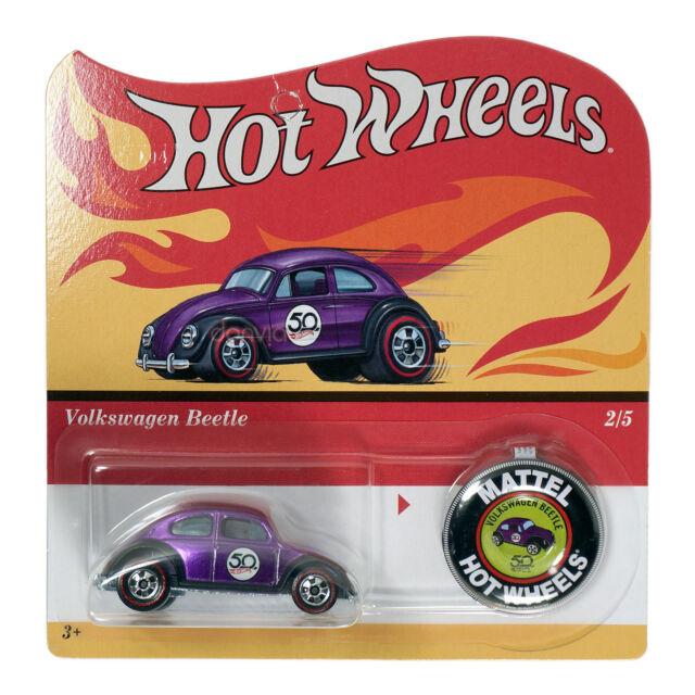 Hot Wheels 2018 50th Anniversary Redline Replica Volkswagen Beetle Die Cast