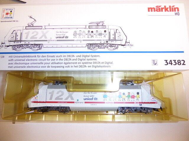 Märklin 34382 BR 128 der DB -Sondermodell-Unicef, Spur H0,OVP