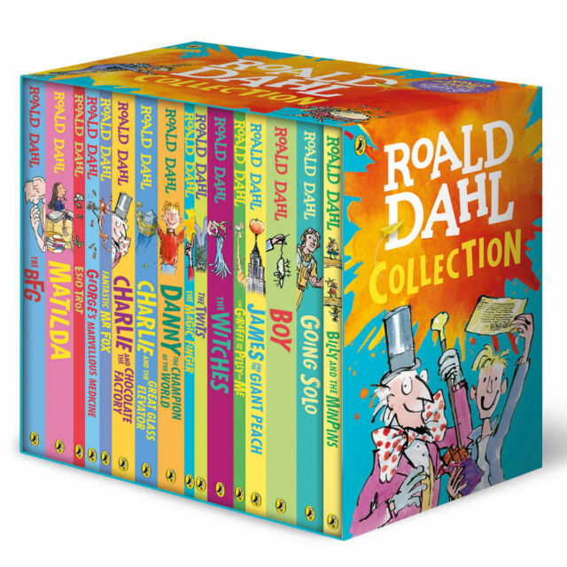 New Roald Dahl Collection 16 Books Box Set