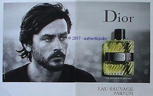 Publicite Dior Parfum Eau Sauvage Acteur Alain Delon De 2017 French