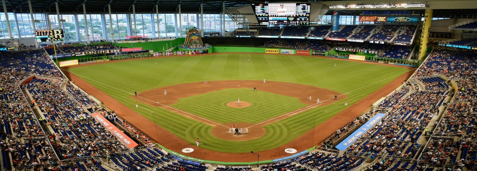 New York mets at Miami Marlins Spring Training