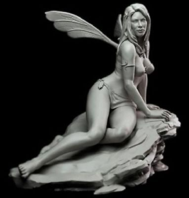 Models & Kits 1/24 75mm Resin Figure Model Kit Sexy Fairy Pretty Girl High Quality Unpainted A Plastic Case Is Compartmentalized For Safe Storage