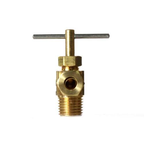 x 1//8 Inch MIP Angle Needle Valve PrimeX 80560 1//4 Inch Comp