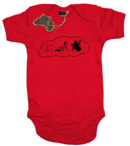 Baby Body DrummerStrampler 0-33-66-1212-18  Monate Ma2ca