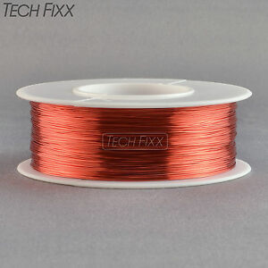 Magnet-Wire-36-Gauge-AWG-Enameled-Copper-3100-Feet-Coil-Winding-Red