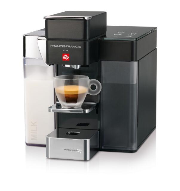 Macchina Caffè Illy Iperespresso Y5 Milk Nero | eBay